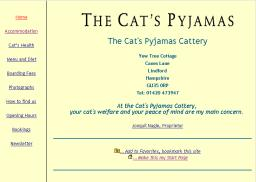 Cat's Pyjamas Cattery