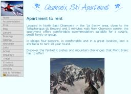 Chamonix Ski Apartment